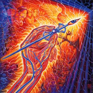 Alex Grey : Writing